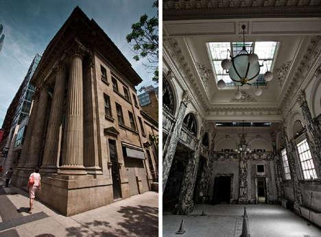 Abandoned Bank Photography
