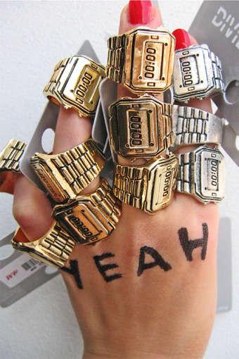 Faux Watch Rings