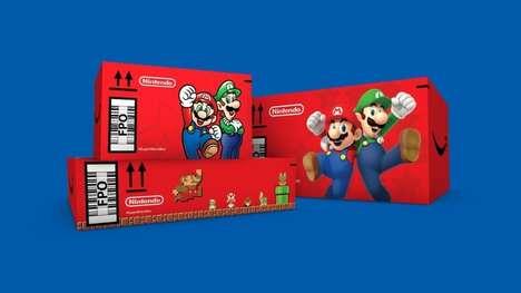 Nostalgic Game System Branding