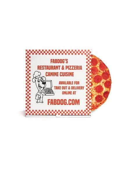 Pizza-Themed Pet Toys