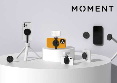Magnetic Photography Smartphone Devices