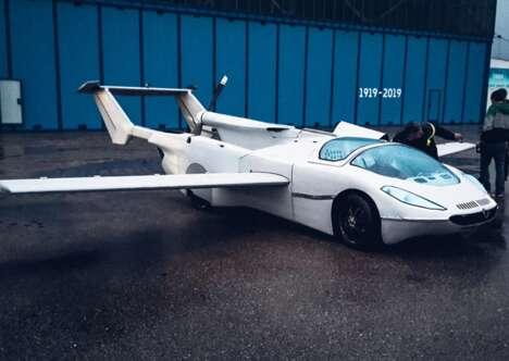 Airplane Hybrid Vehicles