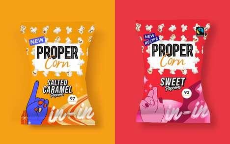 Low-Sugar Popcorn Snacks