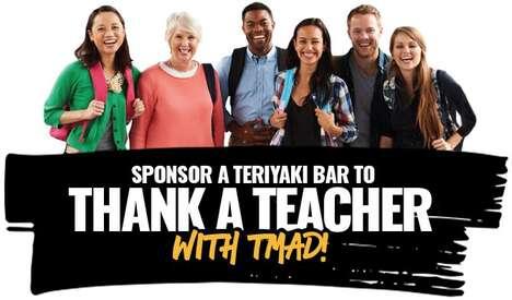 Teacher Appreciation Restaurant Promotions