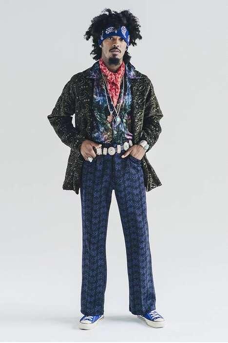 Juxtaposing Patterned Holiday Fashion