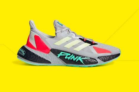 Punk-Themed Running Shoes