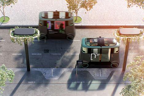 Urban Infrastructure Transportation Pods