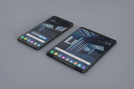 Size-Doubling Phone Screens