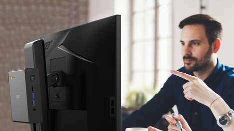 Monitor-Mounted PC Systems