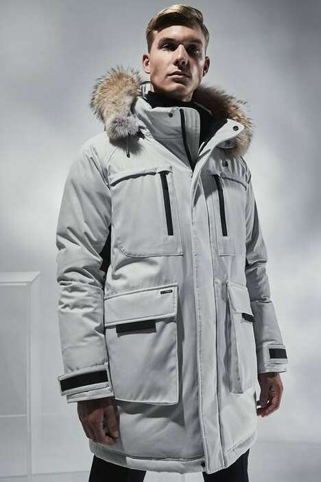 Retro Space Film-Inspired Outerwear