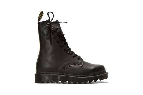 Asymmetrical Avant-Garde Boots