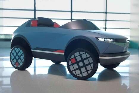Miniaturized Juvenile Electric Vehicles