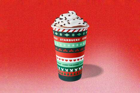 Seasonal Confectionary Drink Lines