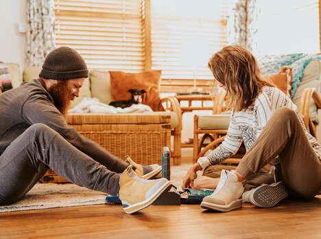 Comfort-Focused Slipper Boots