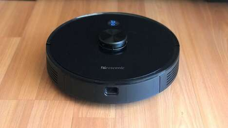 Surface-Detecting Robot Vacuums