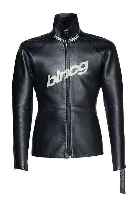 Shiny Leather Scuba Jackets