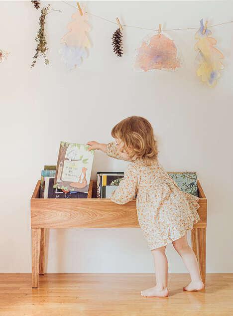 Retro Children's Book Storage