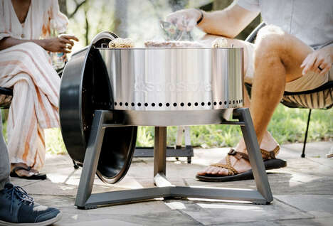 Speedy Heat-Up Charcoal Grills