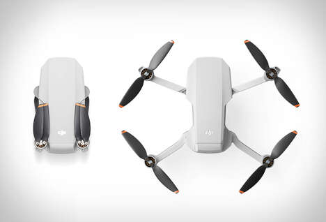 Palm-Sized Pro Photography Drones