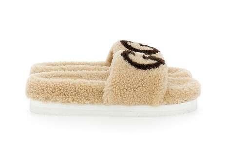 Fuzzy Designer House Slippers