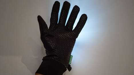 Visibility-Enhancing Gloves