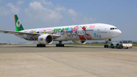Cartoon-Themed Scenic Flights