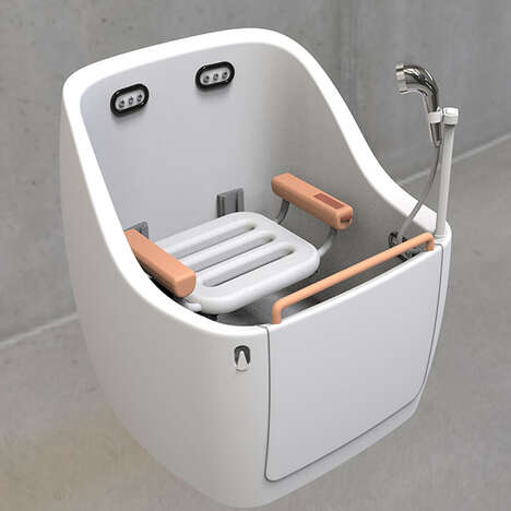 Assistive Elderly Shower Systems