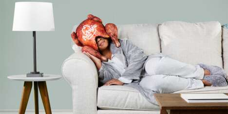 Turkey-Shaped Sleep Masks