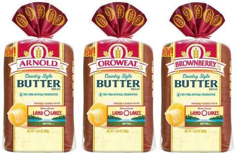 Butter-Infused Breads