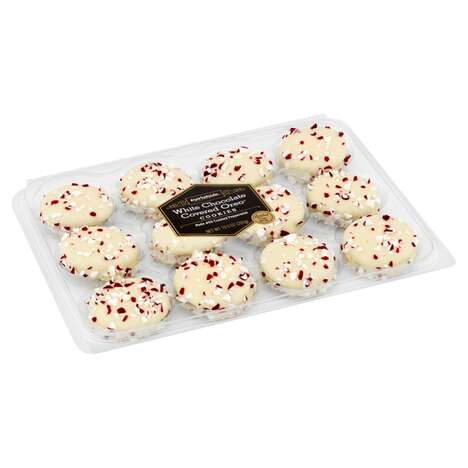 White Chocolate Covered Cookies