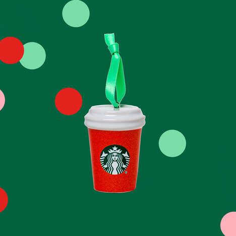 Vibrant QSR-Branded Holiday Merch