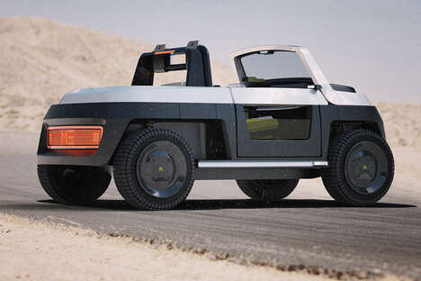 Boxy All-Terrain Electric Vehicles