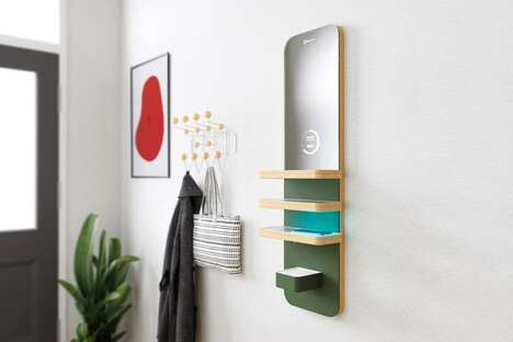 Smartphone-Sanitizing Entryway Stations