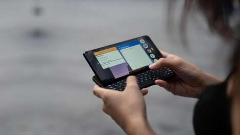 Sliding Productivity Smartphones
