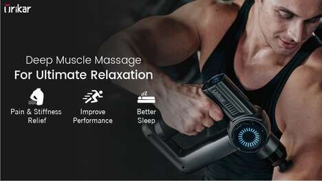 AI-Powered Percussive Massagers