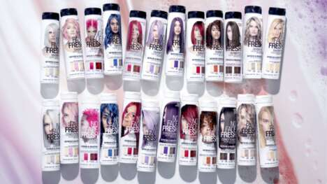 Plant-Based Dyed Hair Products