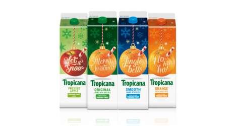 Festive Juice Branding