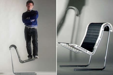 Modern Cantilevered Office Chairs