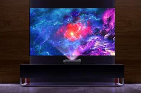 Laser-Powered Projector TVs