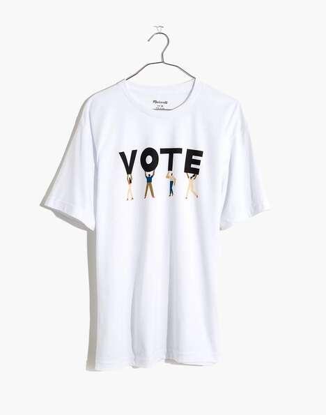 Charitable Vote-Encouraging Tees
