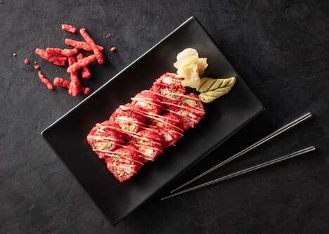 Snack Puff Sushi Rolls