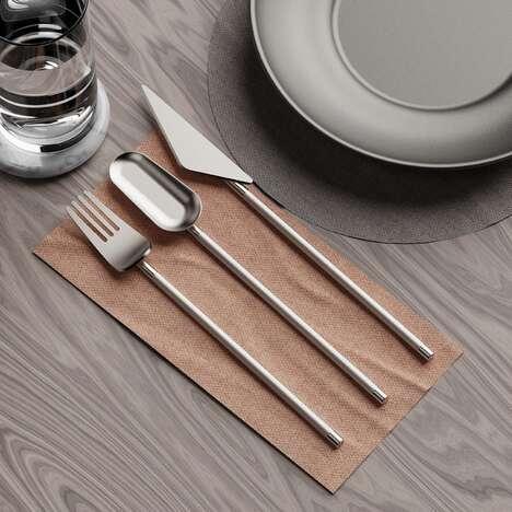 Minimalist Segmented Cutlery