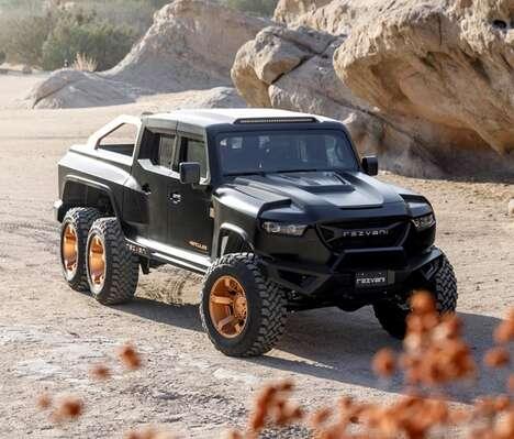 Beastly Off-Road Exploration SUVs