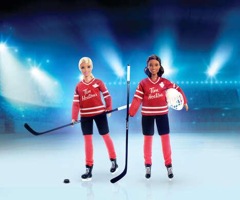 Canadian Hockey Dolls