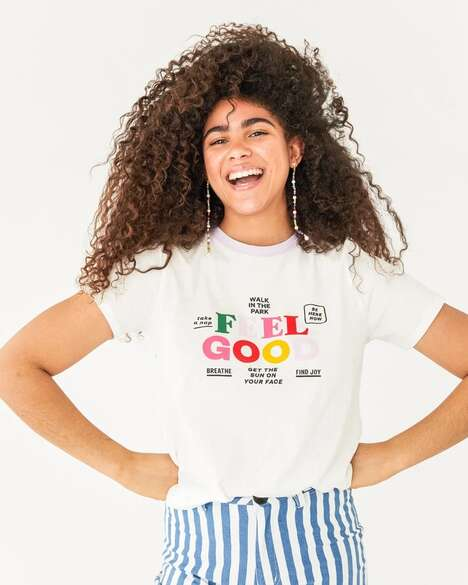 Mindfulness-Themed Graphic Tees