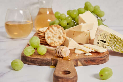 Savory Oaked Chardonnay Cheeses