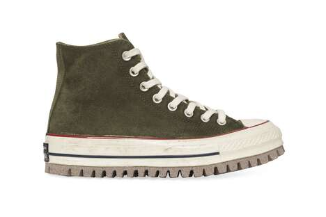 Sturdy Hi-Top Canvas Shoes