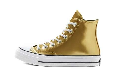 Metallic Sneaker Launches