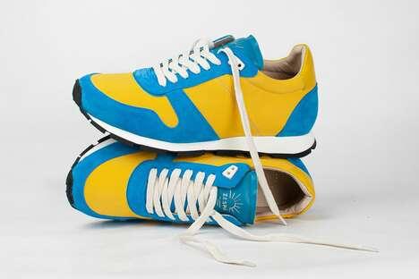 Summer-Inspired Tonal Sneakers