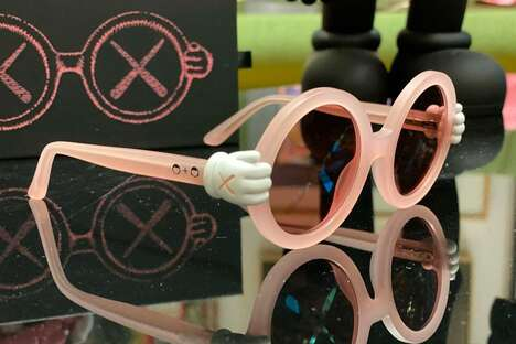 Whimsical Tinted Sunglasses